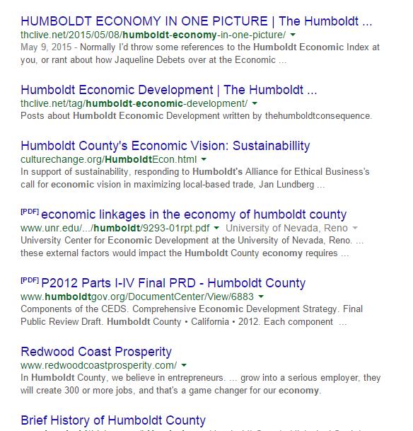 THC = economic experts!